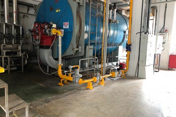 Boiler annual overhauling and prepare boiler